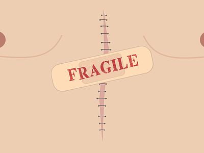 Fragile love fragile broken heart