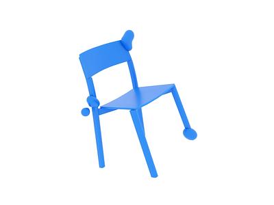 Take a seat. chair dynamics blobby motion arnold loop maya 3d animation