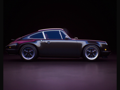 Week 19 - Ray Tracing 911 realtime automotive reflections sports car car neon porsche 911 porsche nvidia rtx ray tracing unreal engine 4 unreal engine unreal design motion loop 3d animation