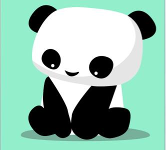 Panda illustration panda animal