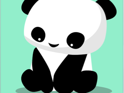 Panda illustration panda animal