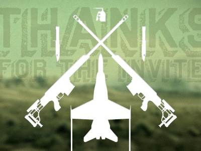 This Shot's For You battlefield bf3 c4 f18 hornet m98 knife thank you thanks invite