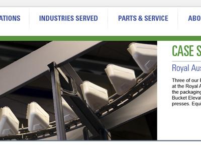 Website website industrial conveyer