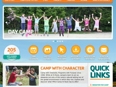 Camp Home summer camp ymca home page home