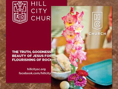 HCC Card business card church hill city