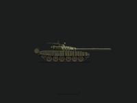 T-72 Russian Tank Illustration