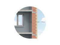 Brick Wall Structure Illustration