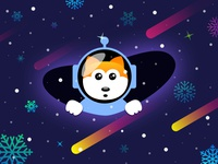 Space New Year