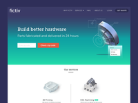 New homepage + service launch