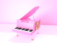 New shot -Pink Piano