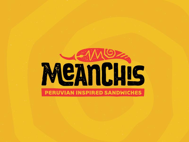 Meanchi's Logo typogaphy hand lettering identity design graphic design restaurant branding logo design branding logo