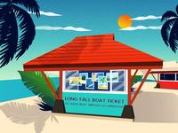 Seaside Ticket Office