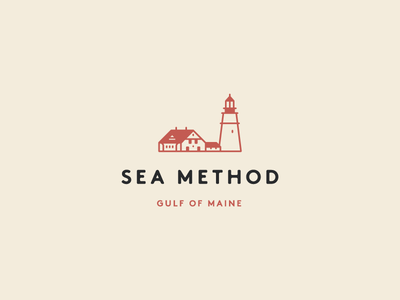 Tshirt design method sea portland lighthouse maine tshirt