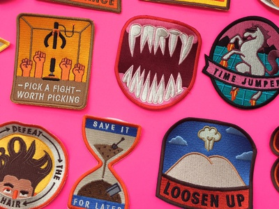Patches for Rhett & Link mythicality rhett and link icon book badge patch