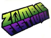 Zombie festival logo