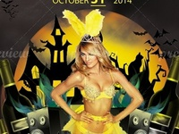Halloween Party Flyer (02-Colors)