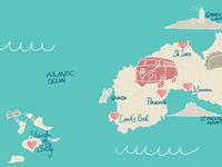 Eat Surf Live-Map