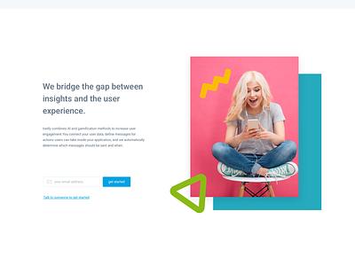 Traitly Web UI sign up form ireland design ui ray doyle illustration ux branding