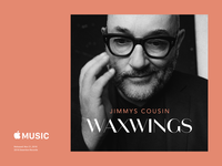Jimmy's Cousin - Waxwings Album Cover Design