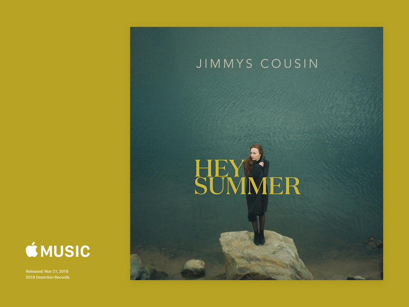Jimmy's Cousin - Hey Summmer Cover Art