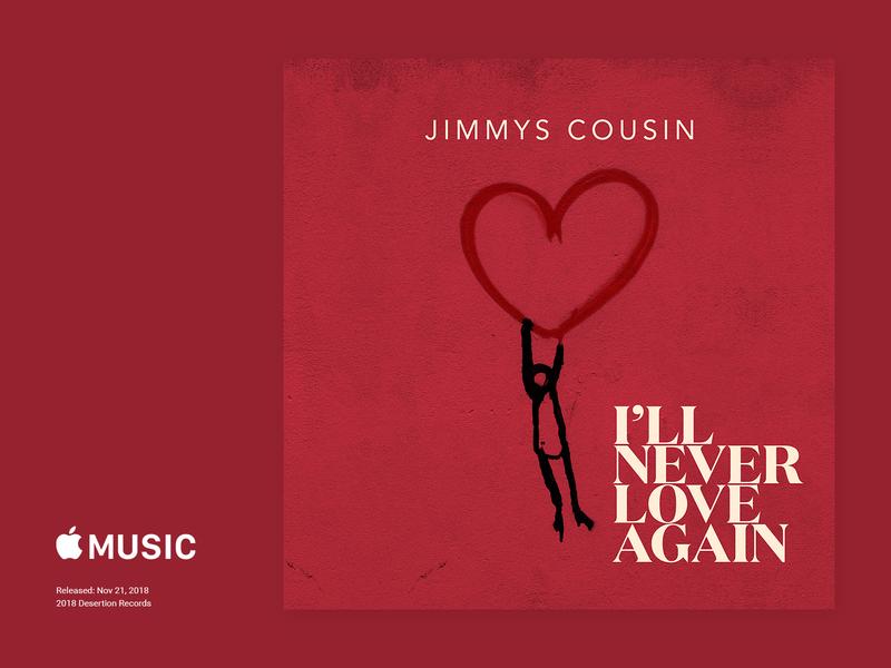 Jimmy's Cousin - I'll Never Love Again CoverArt