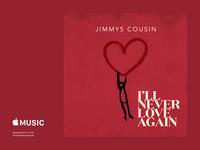 Jimmy's Cousin - I'll Never Love Again CoverArt