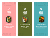 FighterFood Product Labels