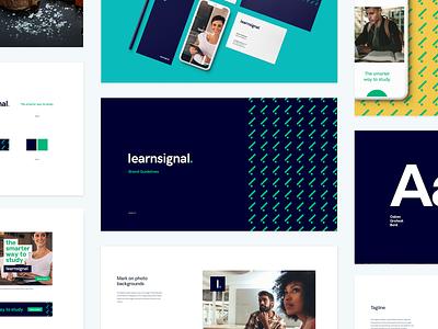 Learnsignal Rebrand animation ireland ray doyle icon typography design logo illustration ui ux branding