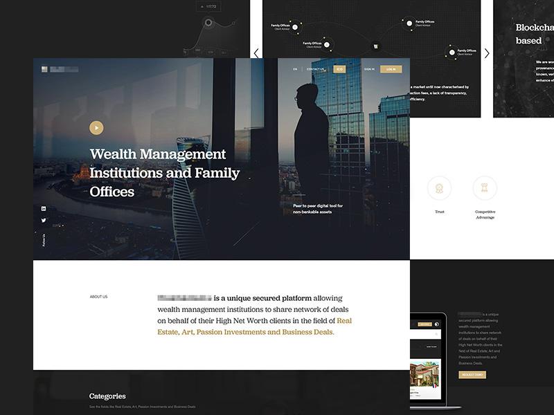Wealth Management by Veaceslav Vlad on Dribbble
