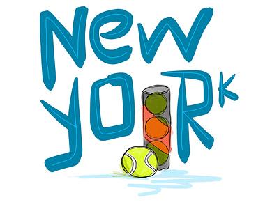 6/100 procreateapp 100dayproject tennis