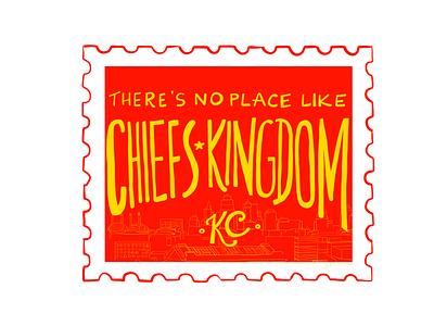 10/100 Chiefs Kingdom nfl chiefs kingdom kcmo kansas city kansas city chiefs chiefs illustration adobefresco 100dayproject