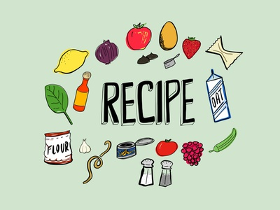 24/100 food illustration 100dayproject