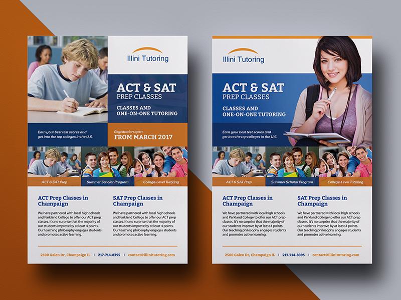Education Flyer Design by DesignerEshad on Dribbble