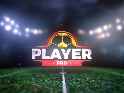 PlayerPro Intro field motion fifa sports adobe after effect aftereffects animation intro logo football