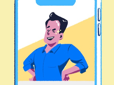 Fill out your profile - detail mobile app mobile profile onboarding illustration asset design color colorful branding illustration branding ui design app illustration