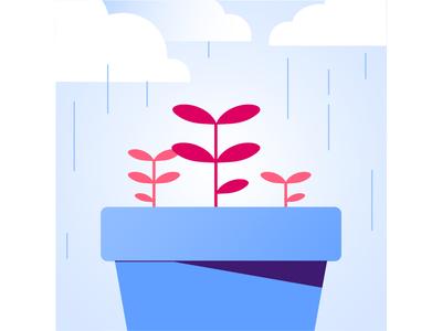 Reframing app design vector app digital illustration mobile branding asset design colorful illustration