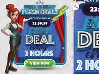Cyber Monday Flash Deals Dribbble