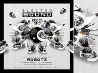 Electro Sound Party Flyer