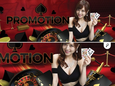 casino banner promotion prize bonus gambling online player game card playing cards roulette promotion banner casino