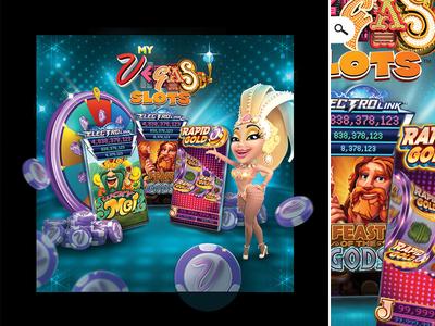 My Vegas Promo MVB Event Blocker dribbble 1 chip slot game casino online player gambling blocker even promo vegas