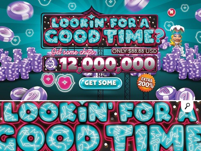 looking for good time online game casino promotion creation player extra banner bonus money chips gambling online game