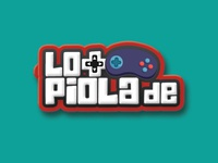 lo mas de piola logo and youtube video bar testing channel gaming feature player bar game video youtube logotype logo lo mas de piola