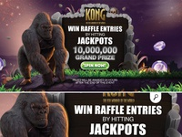 kong online game blocker visual offer money chips bonus jackpot gambling blocker casino online game player kong