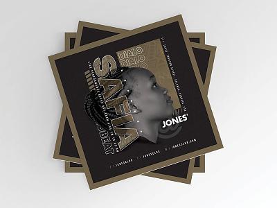 DJ Live Performance Mix Session Flyer print event vibe party club music session season mix performance live dj