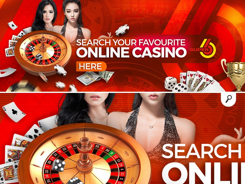 search favorite online casino banner by n2n44 on Dribbble