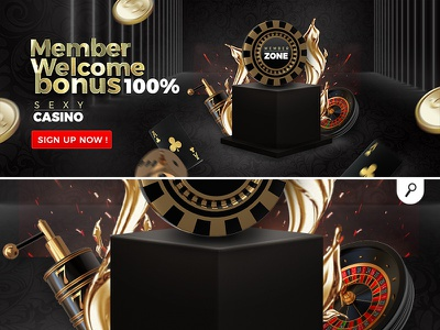 casino member welcome banner sexycasino player dice playing cards slot machine roulette gambling online sexy banner welcome member casino