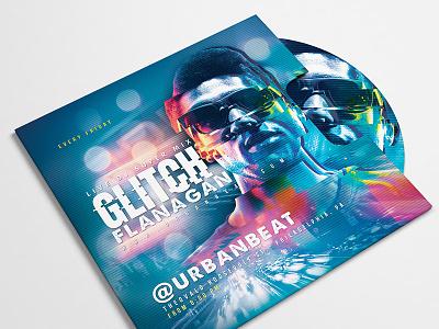 Dj Mix Night In Club Flyer party bash urban glitch eve event night music club flyer mix dj