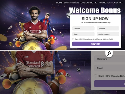sport banner for a online casino competition bet gambling welcome bonus soccer football player game casino online banner sport