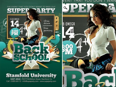 Back To School Super University Party