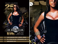 Night Club Flyer Da Boonz